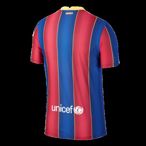 ברצלונה חולצת בית 20-21 צבע כחול אדום אחורי