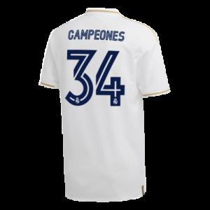 ריאל מדריד חולצת אליפות מספר 34