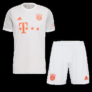 באיירן מינכן סט 20-21 חולצה ומכנס חוץ צבע לבן