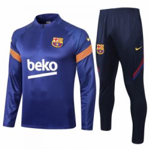 ברצלונה אימונית 20-21 טרנינג ומכנס כחול
