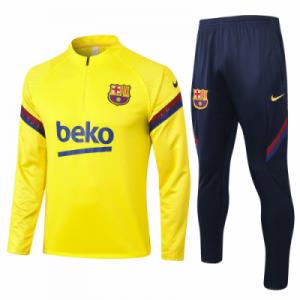ברצלונה אימונית 20-21 טרנינג ומכנס צהוב