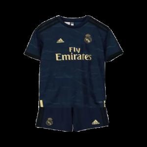 חליפת ילדים ריאל מדריד חוץ 19-20 מכנס וחולצה