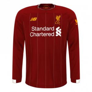 ליברפול חולצה בית ארוכה 19-20