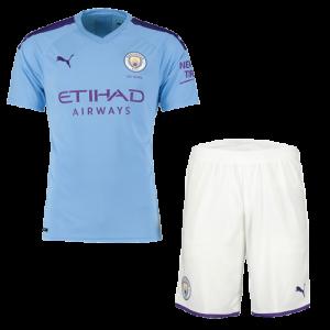 מנצ'סטר סיטי 19-20 סט חולצה ומכנס