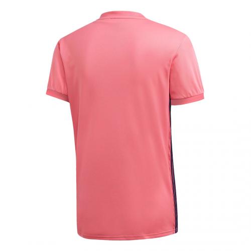 ריאל מדריד חולצת חוץ ורודה לעונת 20 -21 אחורי