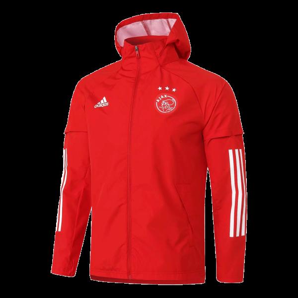 אייאקס אמסטרדם מעיל חורף 20-21 אדום