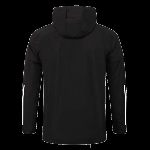 מנצ'סטר יונייטד מעיל חורף 20-21 שחור אחורי