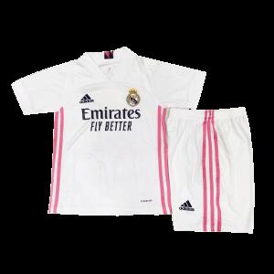 חליפות כדורגל לילדים ריאל מדריד מכנס וחולצה לעונת 20-21